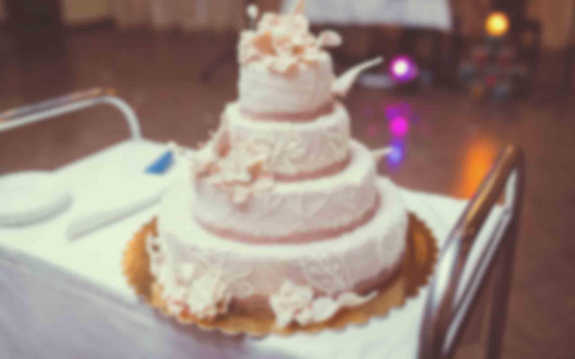 Vintage Wedding Cake